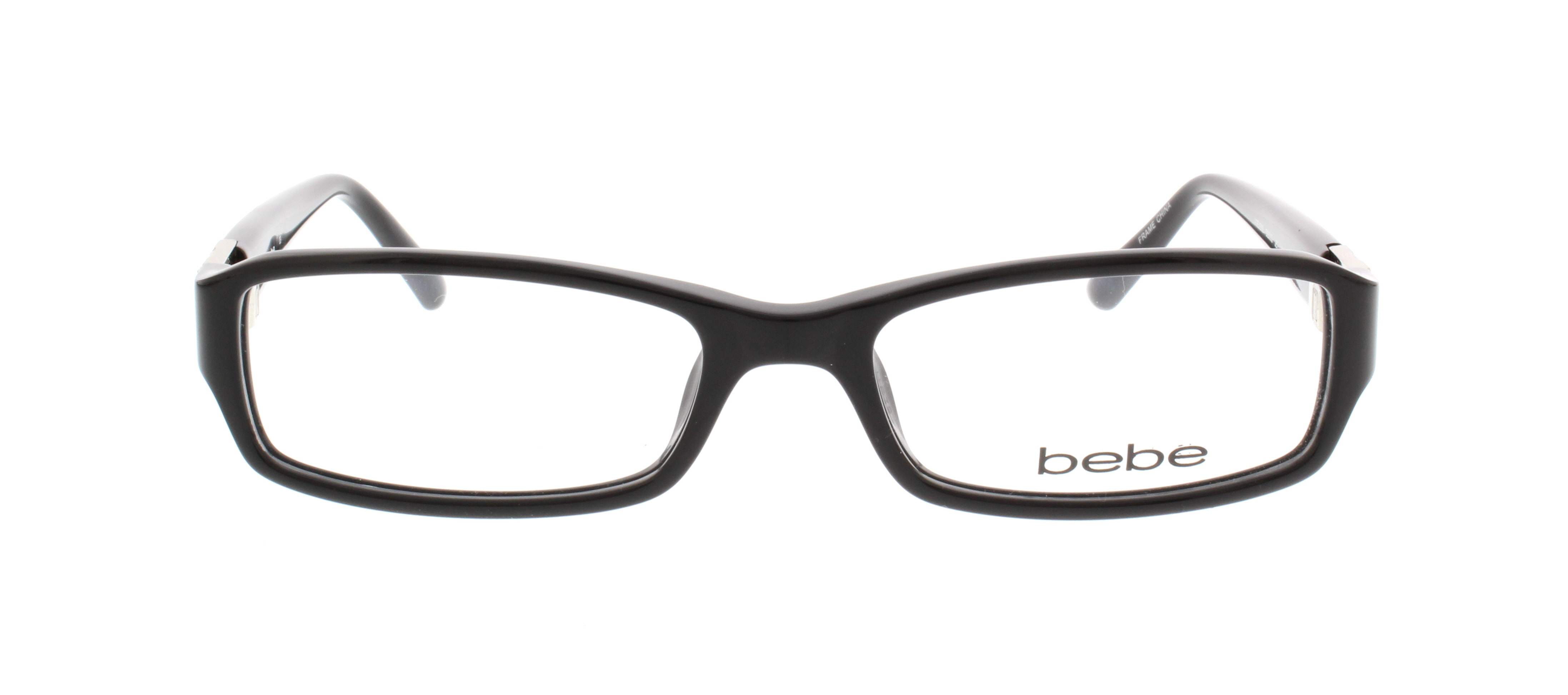 BEBE Eyeglasses BB5008 001 Jet 52MM - Walmart.com