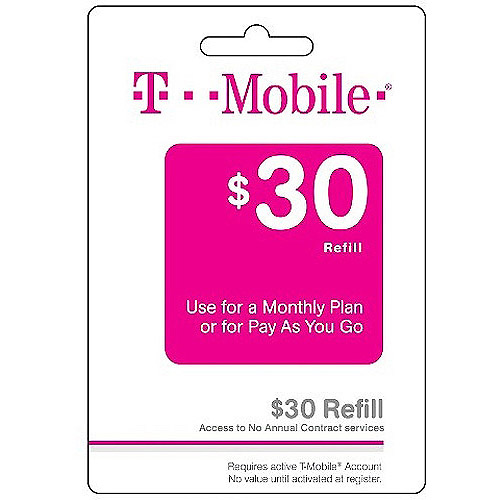 (Email Delivery) New T-Mobile Monthly4G $30 Unlimited Web & Text with 100 min of talk