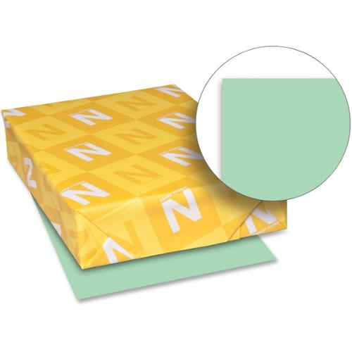 "Exact Index Paper - Letter - 8.50"" x 11"" - 110 lb Basis Weight - Smooth - 94 Brightness - 250 / Pack - Green"