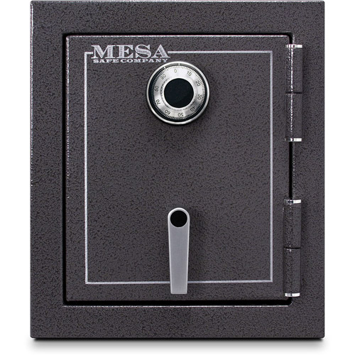 Mesa Safe MBF1512C Fire Resistant Security Safe with Mechanical Lock, Hammered Grey