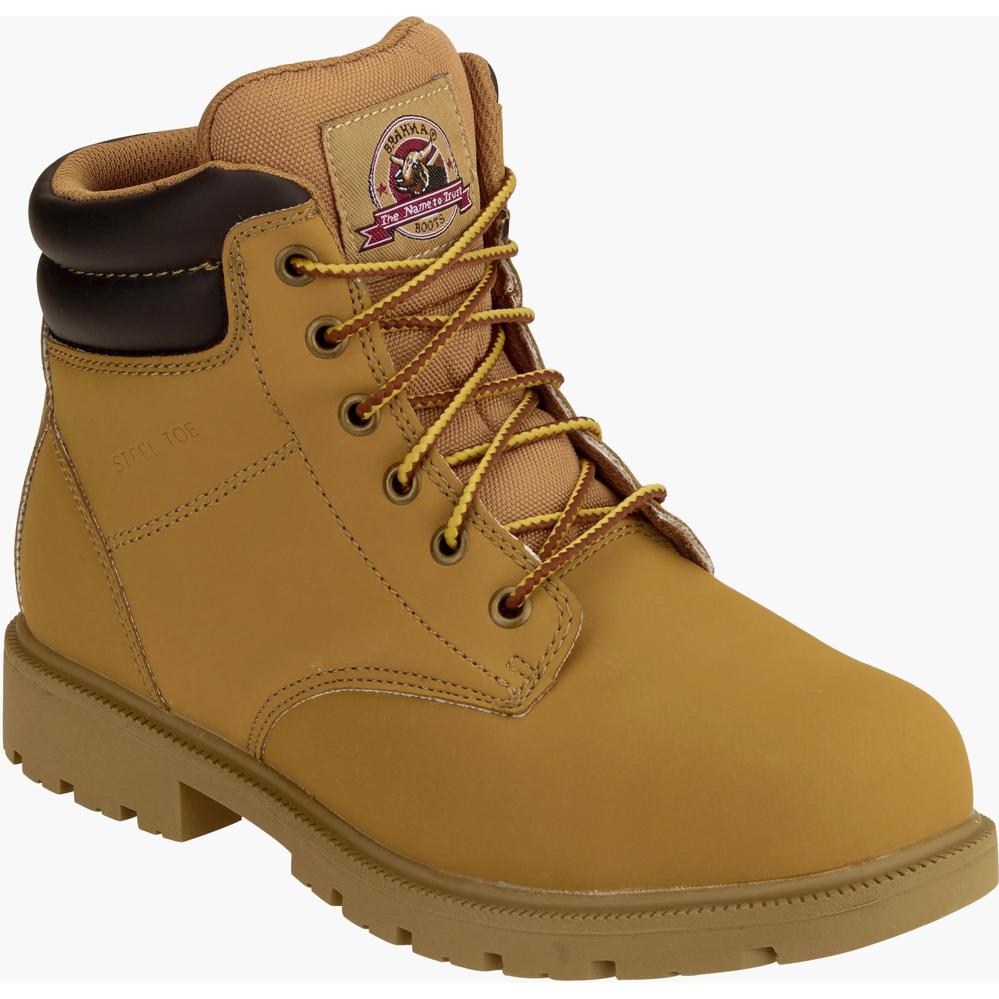 Brahma Men's Bay Steel Toe Pull On Work Boot - Walmart.com