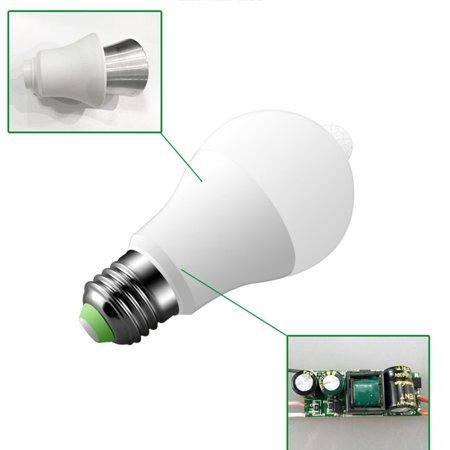 Human Body Induction Bulb Infrared Sensor Bulb Lamp Motion Sensing Light - image 6 de 6