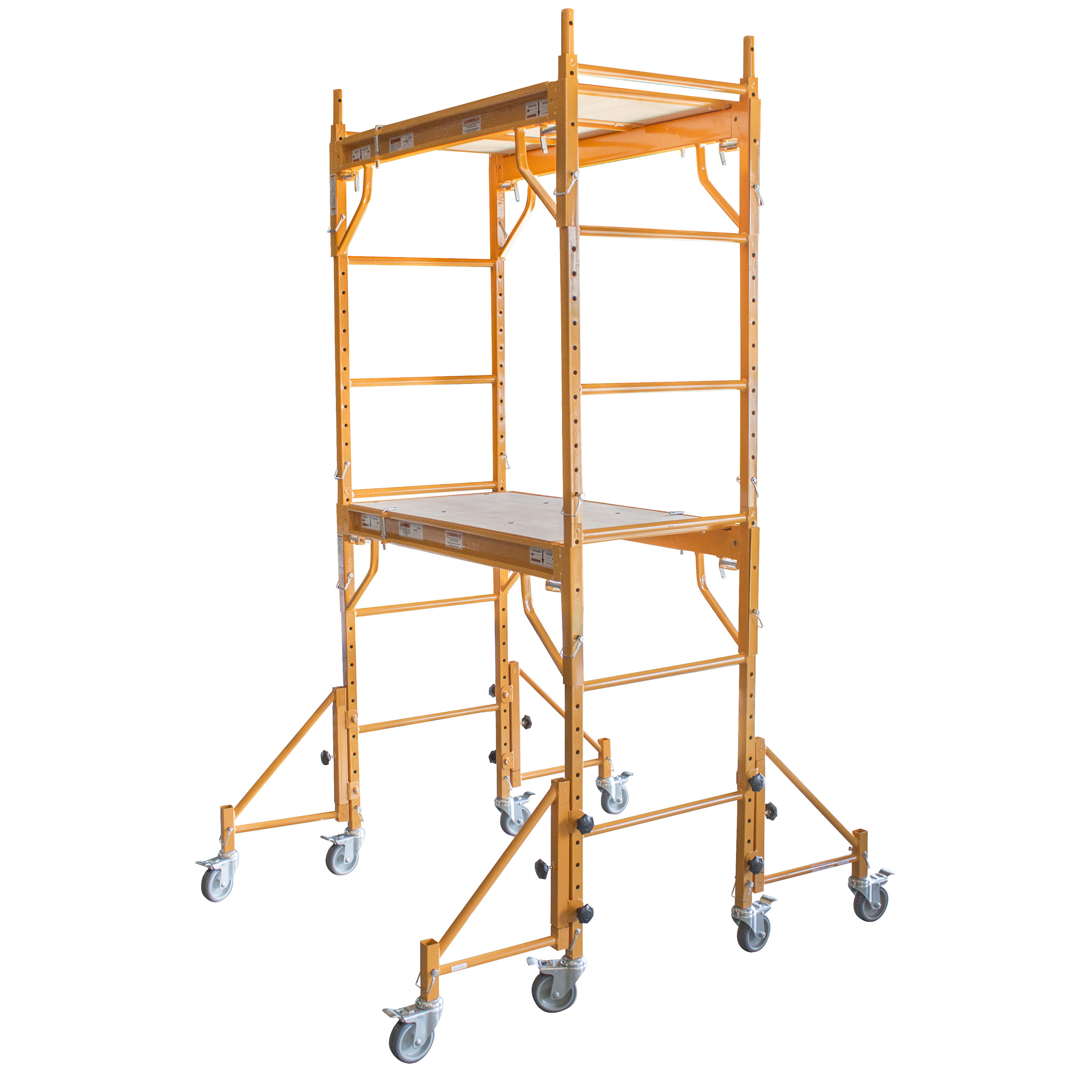 Pro-Series 7 Ft. Rolling Interior Mini Scaffold Tower