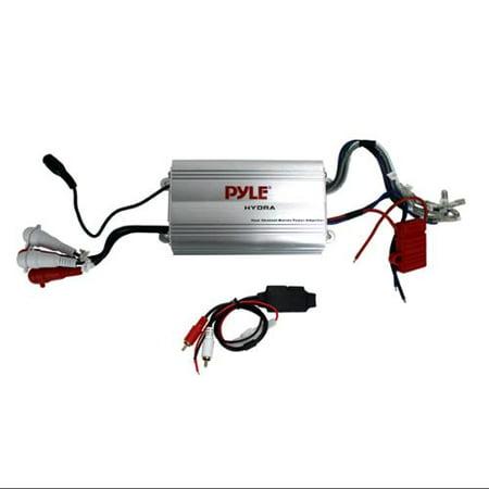 Pyle PLMRMP3A 4 Channel Marine Waterproof MP3/iPod Amplifier + Bluetooth Dongle