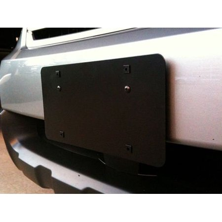 Front bumper license plate mounting bracket for (License Plate Mounting Bracket)