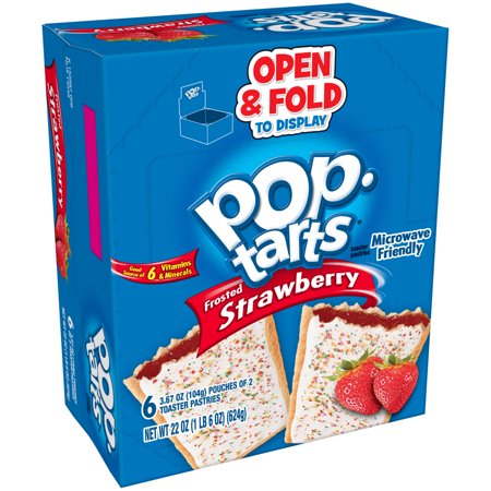 Kellogg's Pop-Tarts, Frosted Strawberry Flavored, 22 oz 12