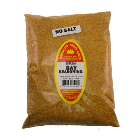 Marshalls Creek Spices MARYLAND STYLE SEAFOOD SEASONING NO SALT REFILL (COMPARE TO OLD BAY