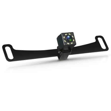 TSV Waterproof High-Definition 170° View Angle 8 LED Night Vision Car Rear View Backup Reversing Parking Camera Kit (Reversing Kit)