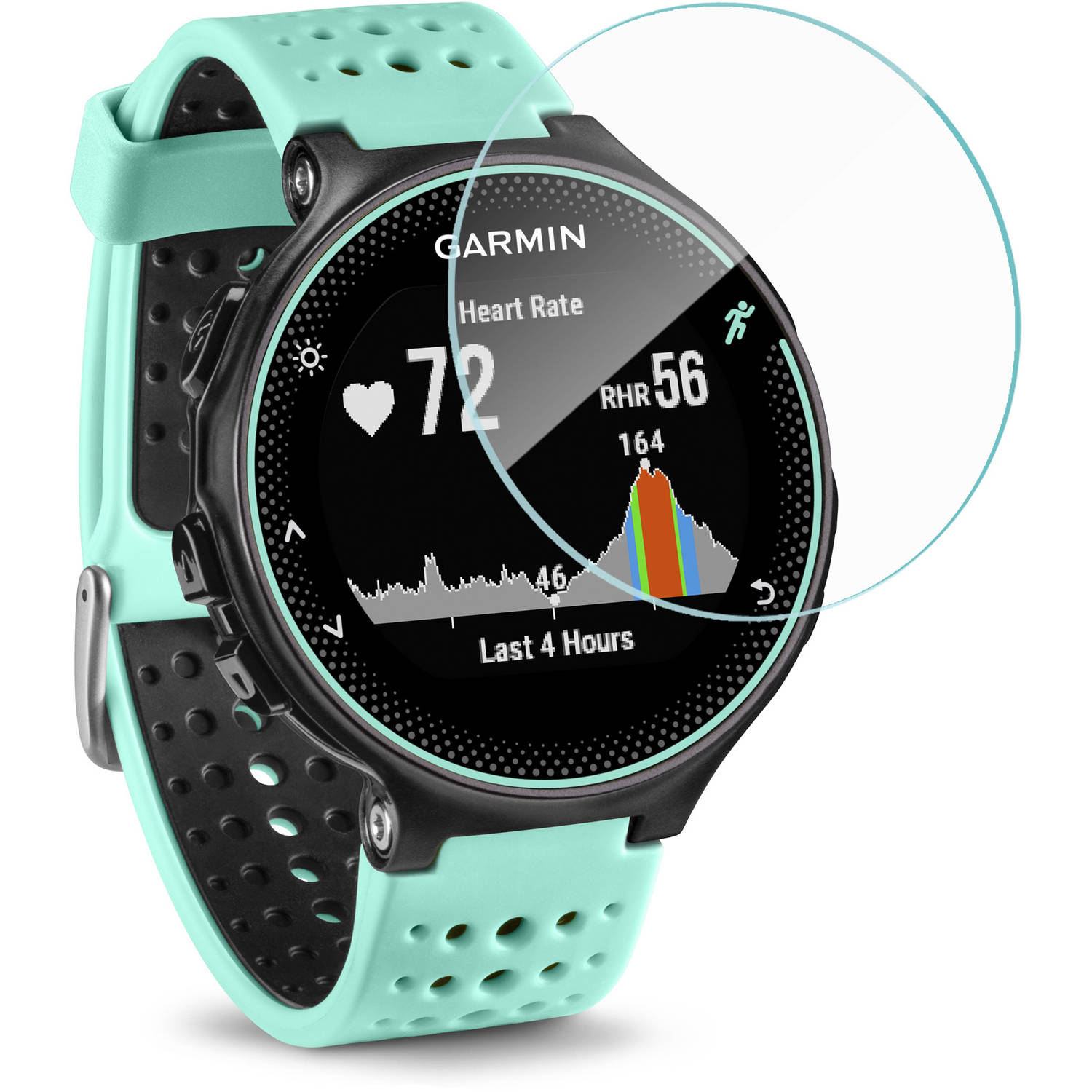 Garmin Forerunner 235 Screen Protector, BoxWave, ClearTouch Glass