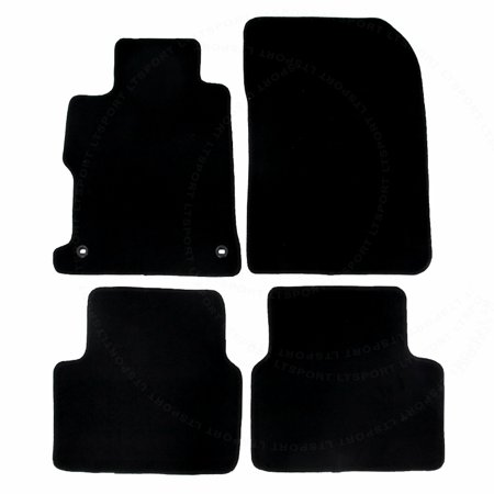 Honda Civic Floor Mats >> Fit 12 15 Honda Civic Sedan Custom Fit Premium Nylon Black Floor Mats Carpet For 2012 2013 2014 2015 12 13 14 15 Honda C