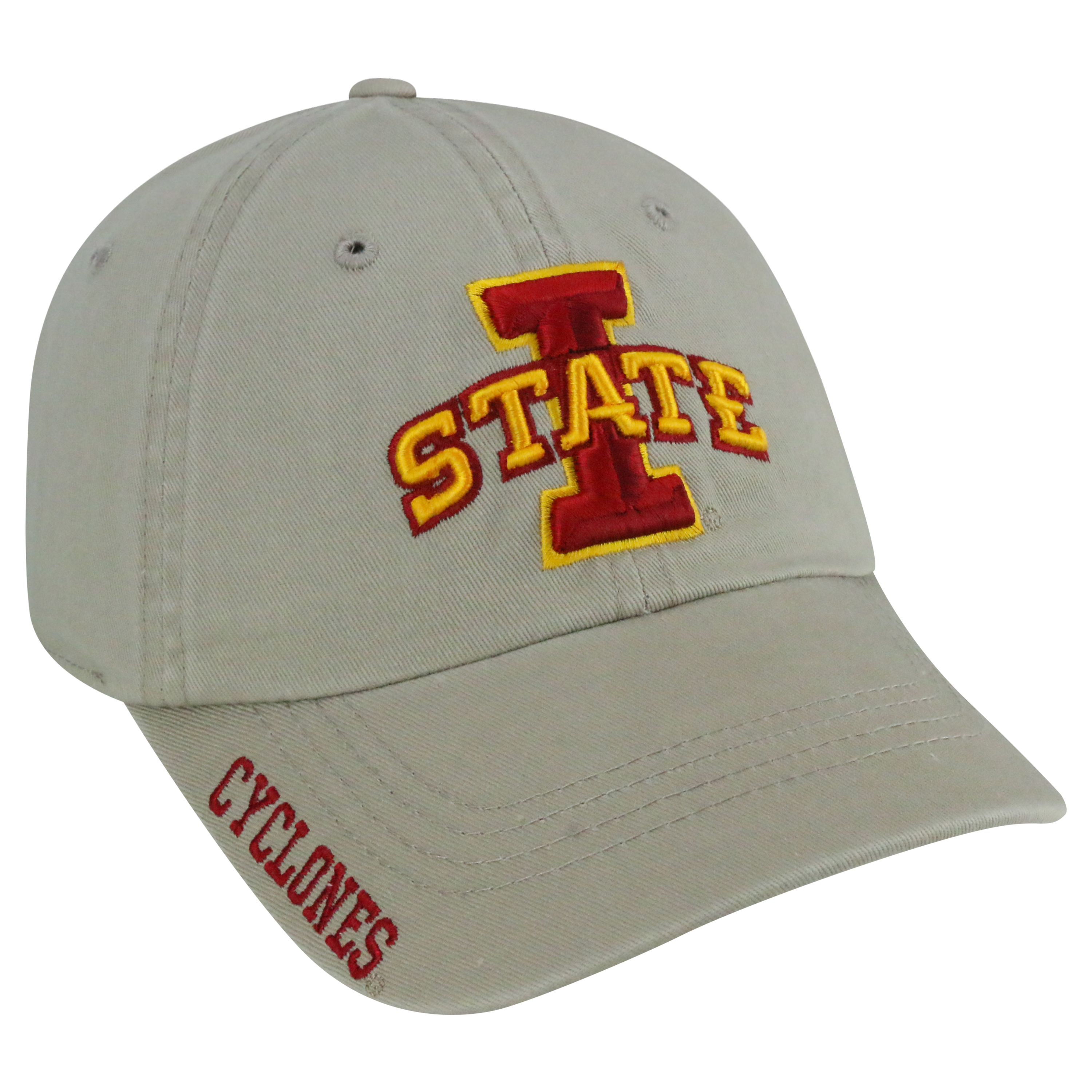 Iowa State Khaki Washed Cap