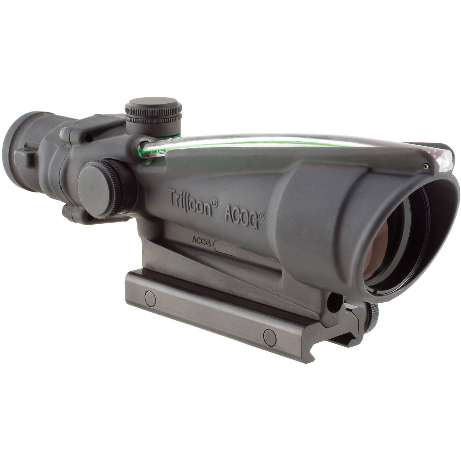 Trijicon ACOG Rifle Scope, 3.5X 35, Green Horseshoe .308 Reticle with TA51 Mount, Matte by Trijicon