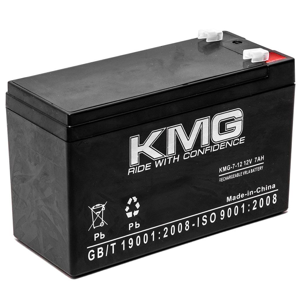 KMG 12V 7Ah Replacement Battery for Johnson Controls GC1245 GC1260 GC12601 JC1260