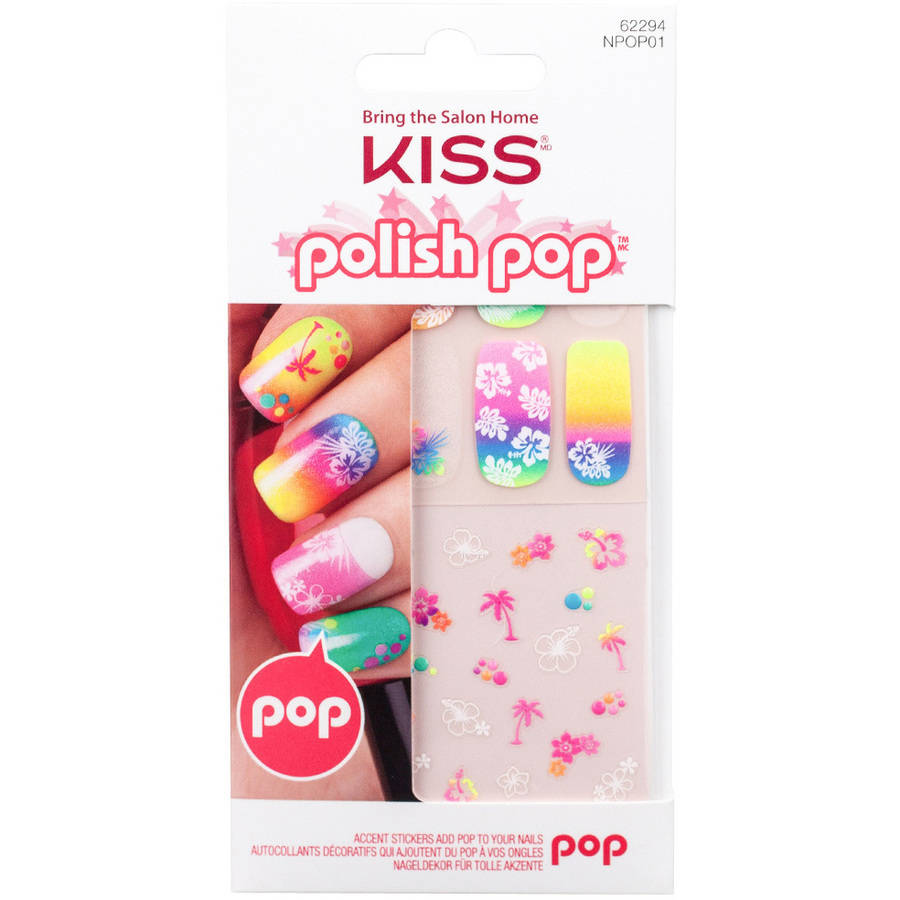KISS Polish Pop Accent Stickers for Nails