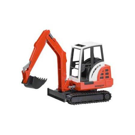 Mini Excavator (Schaeff) - Vehicle Toy by Bruder Trucks (02432)