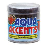 Zoo Med Aqua Accents Decorative Substrate - Midnight Black Sand - 0.5 lb