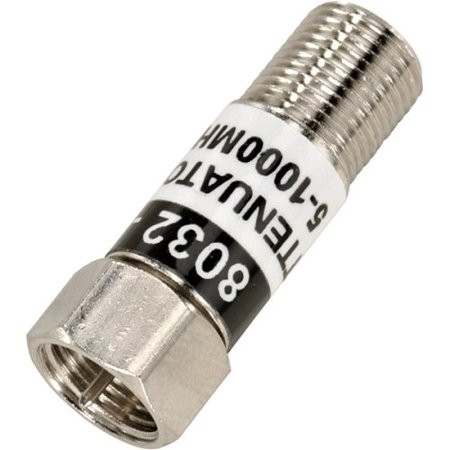 - 6DB Attenuator, Provides a 6 dB insertion loss By ChannelPlus,USA