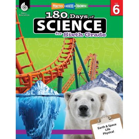 180 Days of Science for Sixth Grade (Grade 6) : Practice, Assess, Diagnose - Sixth Grade Halloween Games
