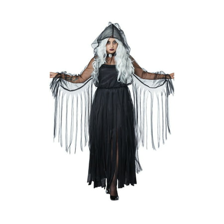 Plus Size Vengeful Spirit Ghost - Spirit Halloween Supplies