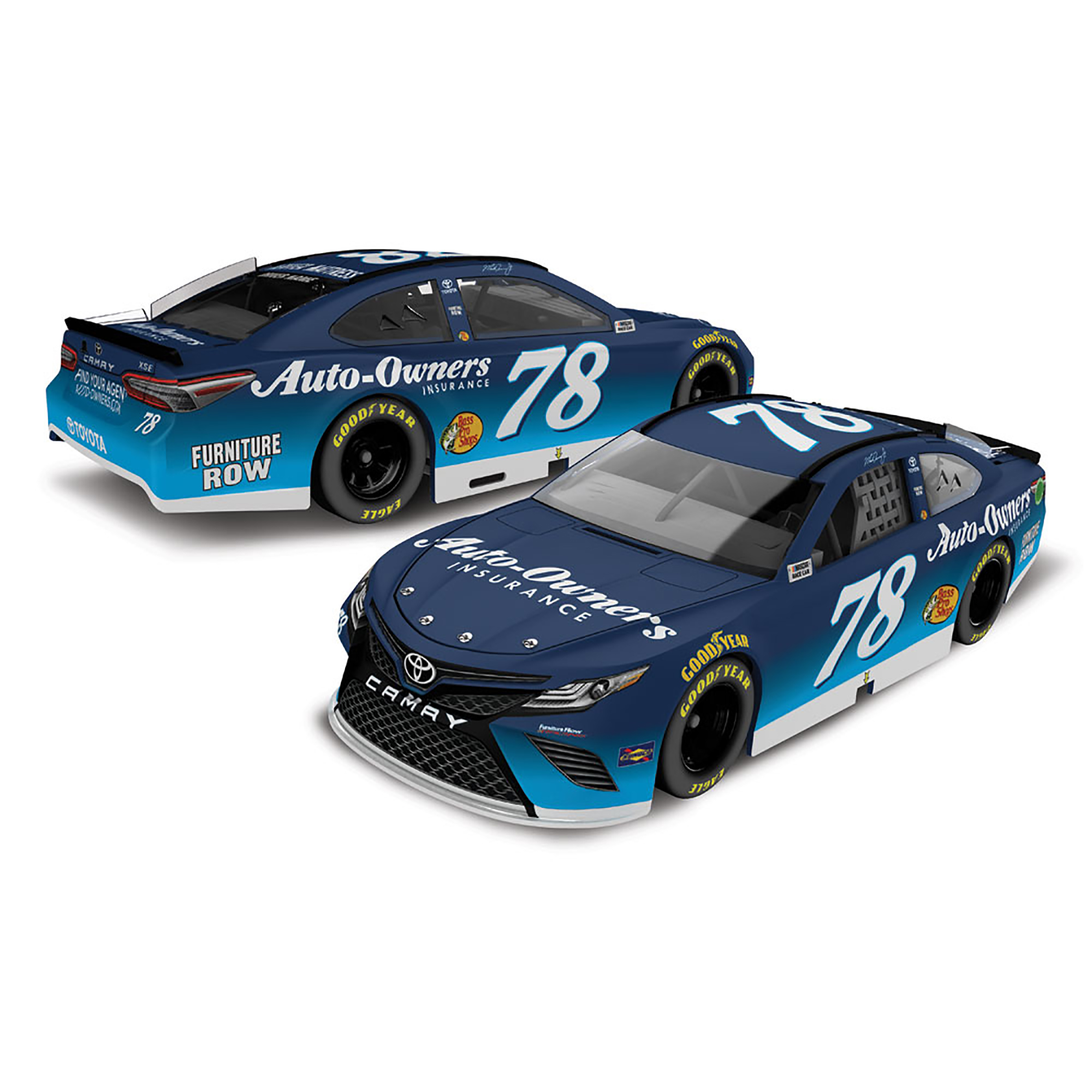 Martin Truex Jr Action Racing 2018 #78 Auto-Owners Insurance 1:64 Monster Energy Nascar... by Lionel LLC