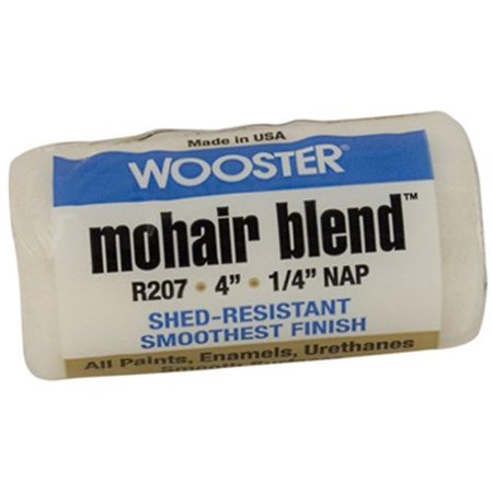 Wooster Brush 4x1/4 Mohair Blnd Cover R207-4