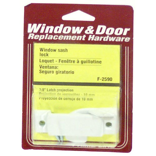 Prime Line F2590 White Window Sash Lock