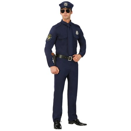 Men's Cop Costume](Funny Cop Costume)