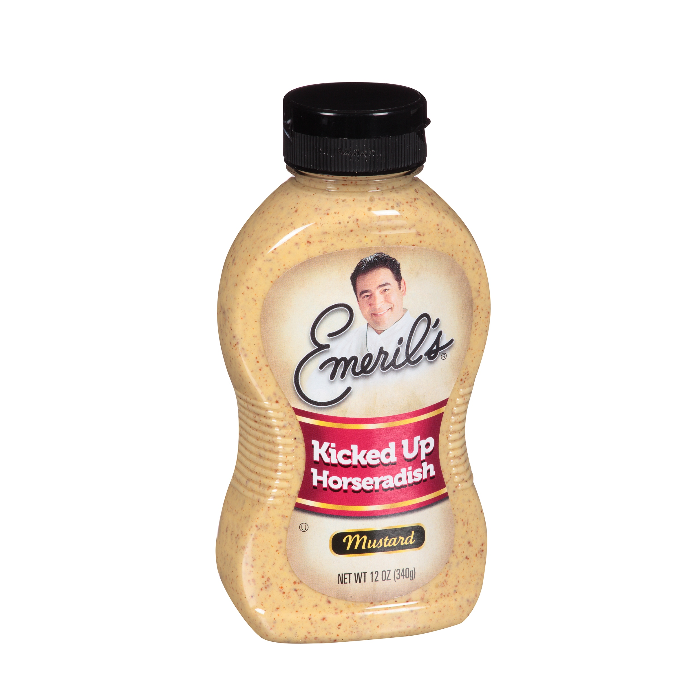 Emeril's Kicked Up Horseradish Mustard, 12 Oz by B&G Foods, Inc.