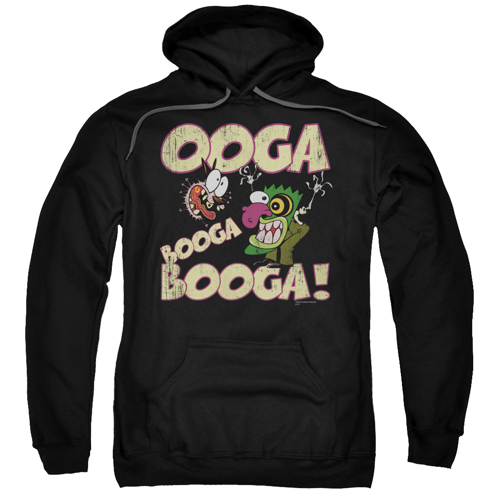 Courage the Cowardly Dog Ooga Booga Booga Mens Pullover Hoodie