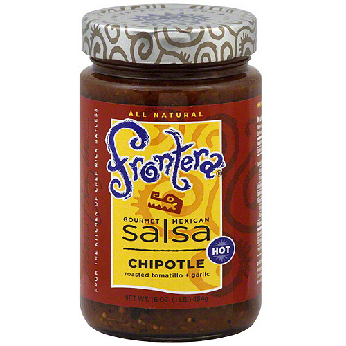 Frontera Gourmet Mexican Chipotle Salsa, 16 oz (Pack of 6)