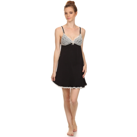 Simlu - Sleepwear for Women Sleeveless Lace Women Nightgowns Sleep Dress  Slip Nightgown - Walmart.com be90c6e610