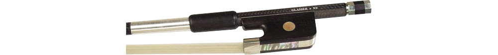 Braided Carbon Fibre Violin Bow by Glasser