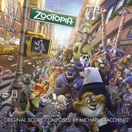 Zootopia Soundtrack (CD) - Halloween 6 Producer's Cut Soundtrack