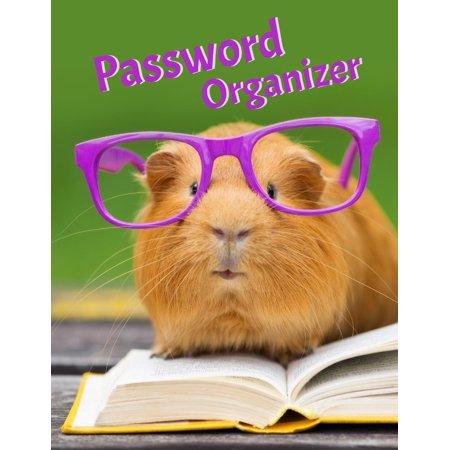 Password Organizer: Large Size Internet Password Keeper 8 1/2