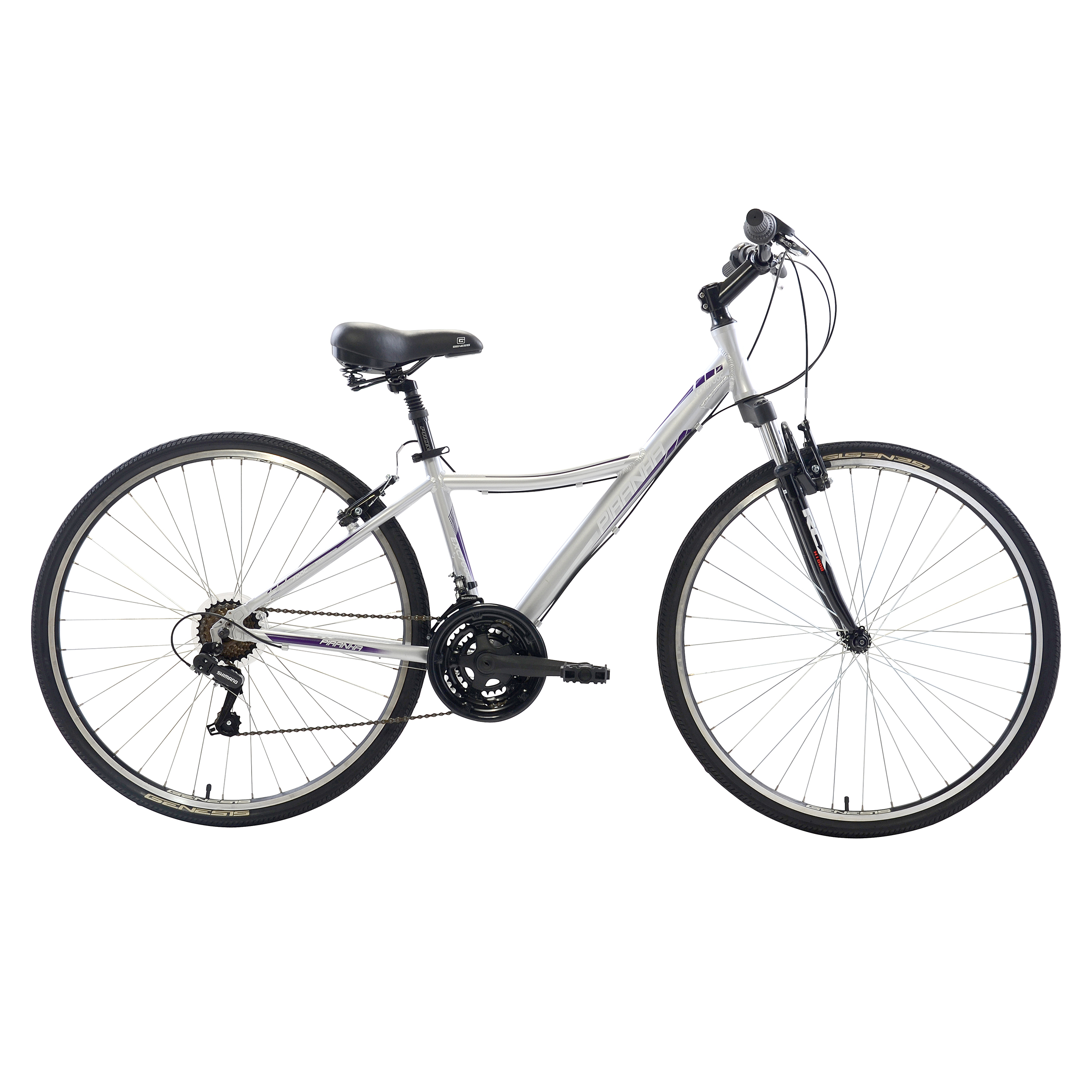 Piranha Women's 21 Speed City Bike