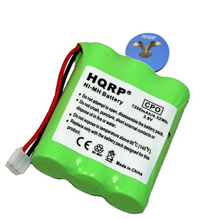 HQRP Cordless Phone Battery for AT&T / Lucent 3301, SKU 91076, 80-5071-00-00 / 8050710000 Replacement fits Vtech Ia5823 + HQRP