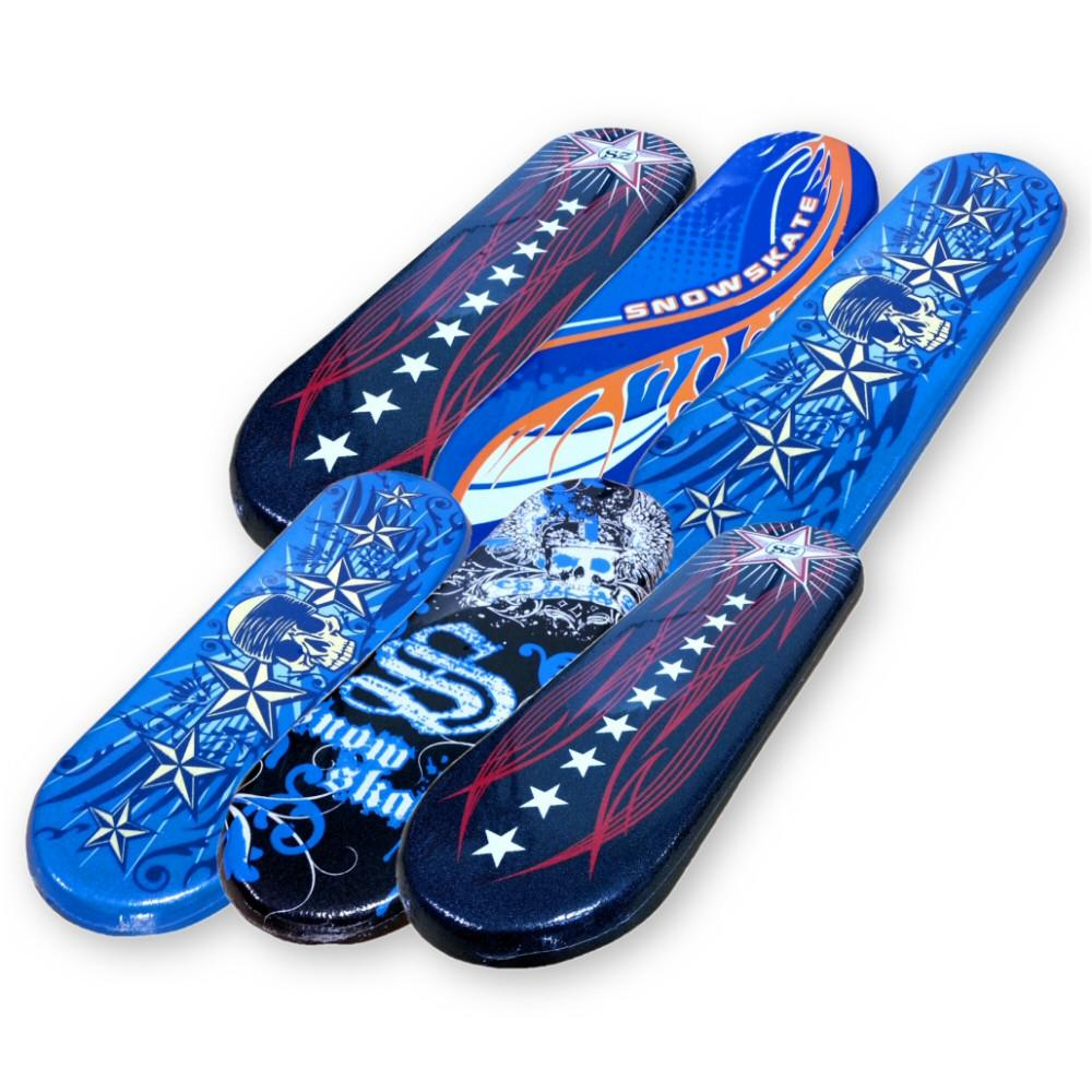 "Slick Bottom Foam 27"" Snow Skate Snowboard Six (6) Pack by"