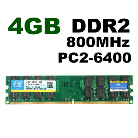 4GB DDR2 800Mhz PC2-6400 240 Pin 1.8V Desktop Memory RAM AMD DIMM (Pc5300 Ddr2 Ram)