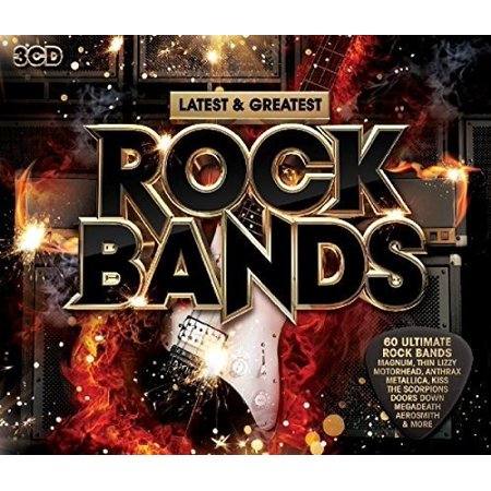 Latest & Greatest Rock Bands / Various -