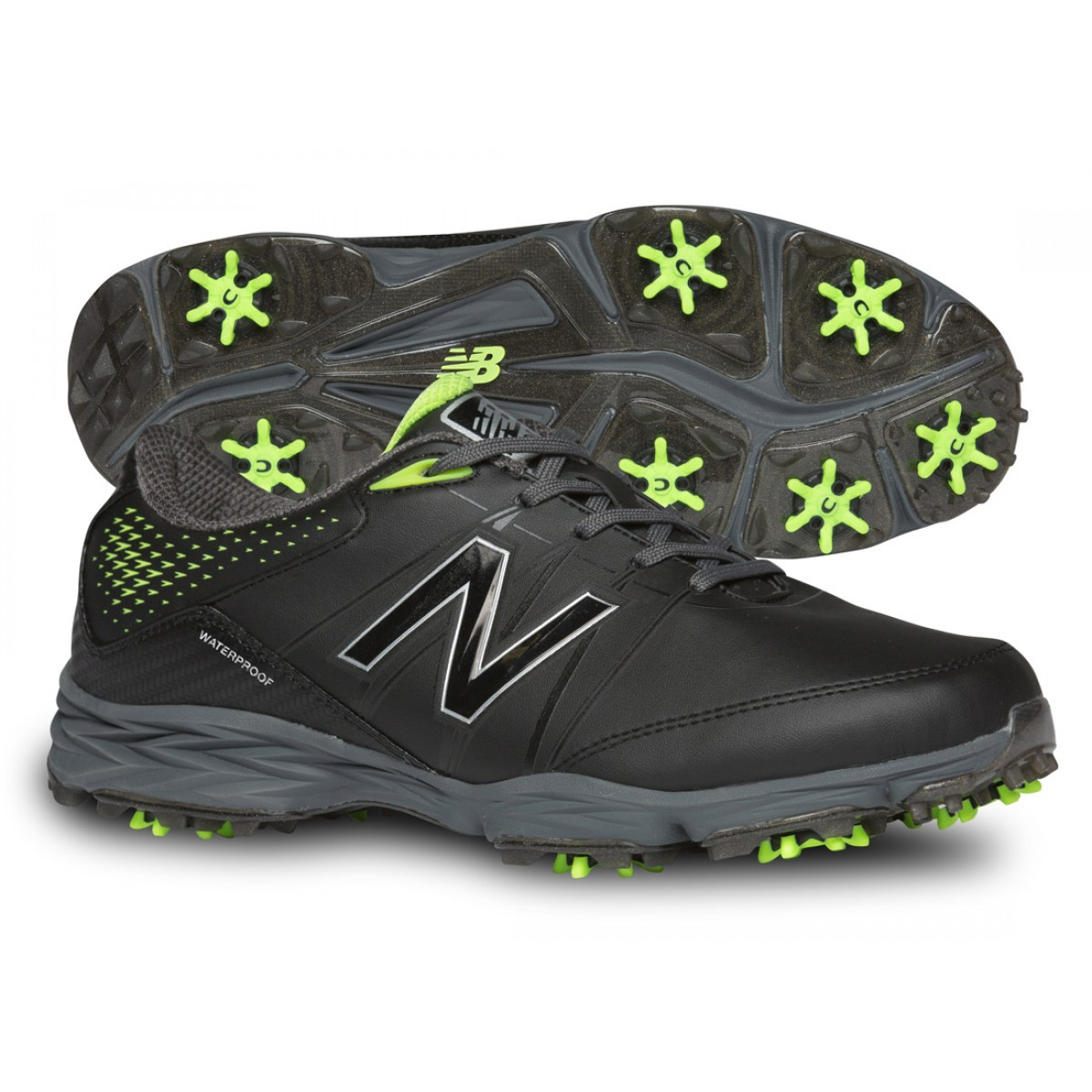 New Balance NBG2004 Golf Shoes - Black/Green
