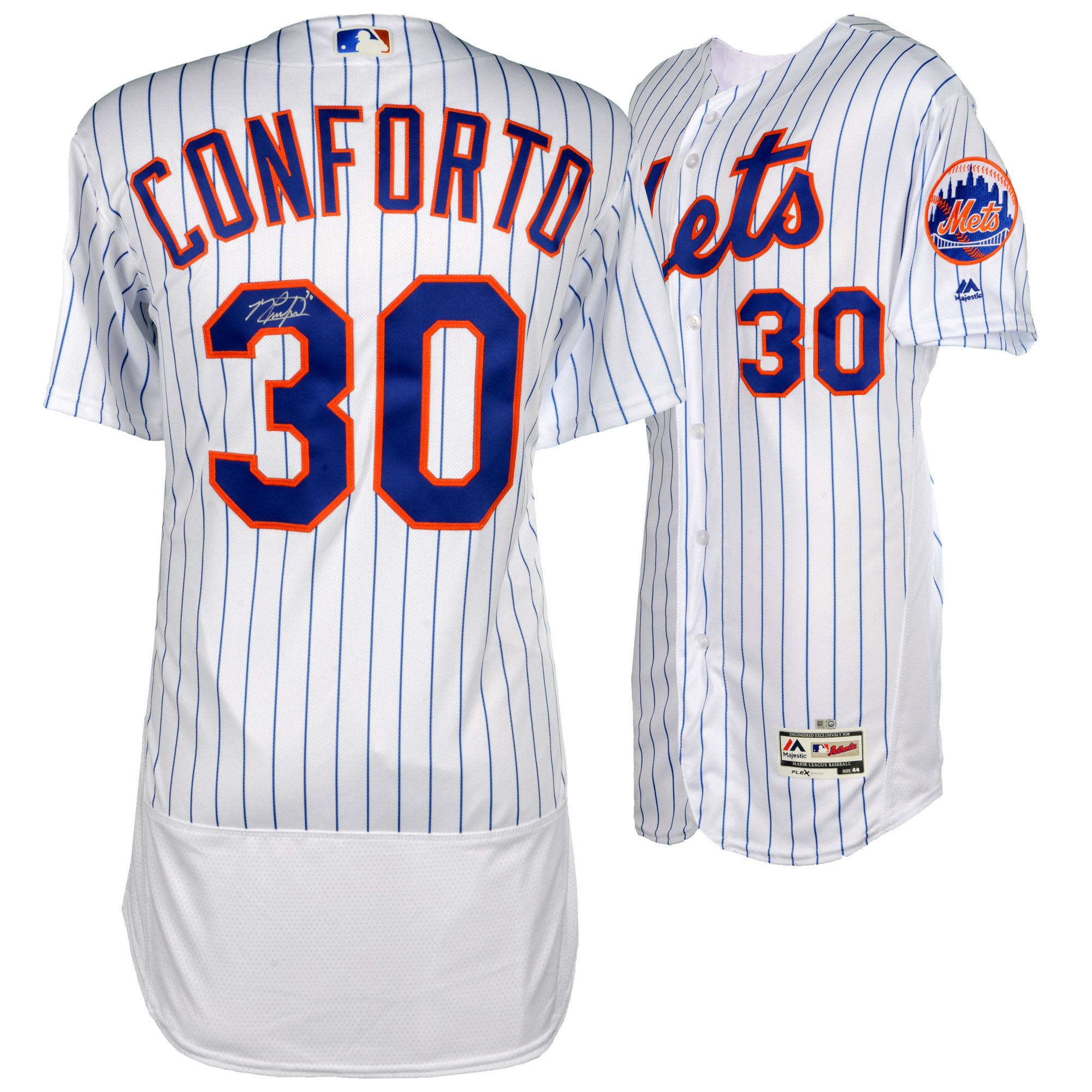 Michael Conforto New York Mets Fanatics Authentic Autographed Majestic White Authentic Jersey - No Size