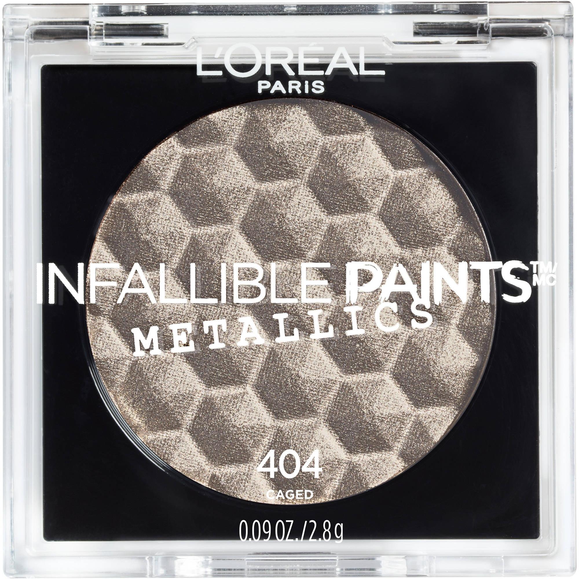 L'Oreal Paris Infallible Paints Eyeshadow Metallics