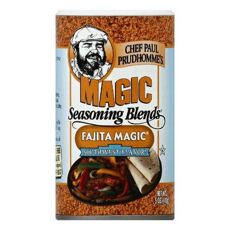 Fajita Magic - Chef Paul Prudhommes Southwest Flavor! Fajita Magic Seasoning Blends, 5 OZ (Pack of 6)