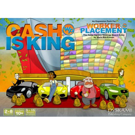 Worker & Placement - Cash is King Expansion New - King Of Tokyo Halloween Expansion