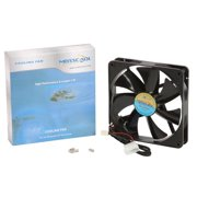 Masscool FD14025S1L3/4 140mm 57CFM High Airflow Case Fan with 3 + 4 pins - NEW