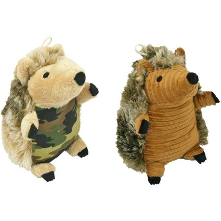 Dan-Dee Plush Hedgehog Dog Toy, 8