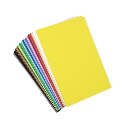 Foamies Sticky Back Sheets - Assorted Colors - 2mm - 6 x 9 in