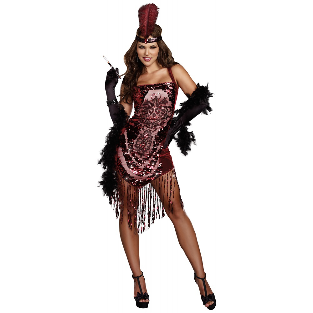 Gatsby Girl Adult Costume - Large