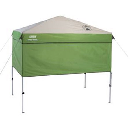 Coleman 7 X 5 Staight Leg Instant Canopy Sunwall Shelter Green 35