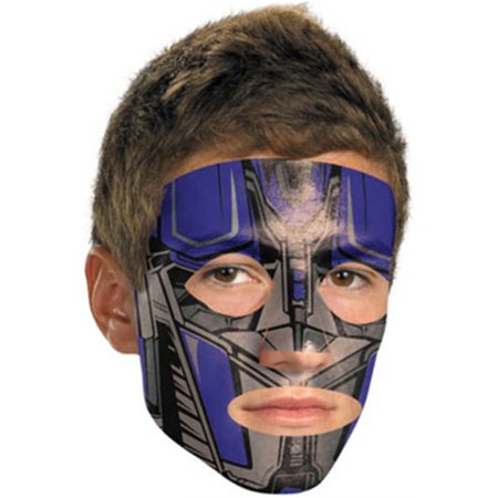 Transformers Optimus Prime Costume Accessory Face Tattoo Mask](Optimus Prime Mask)